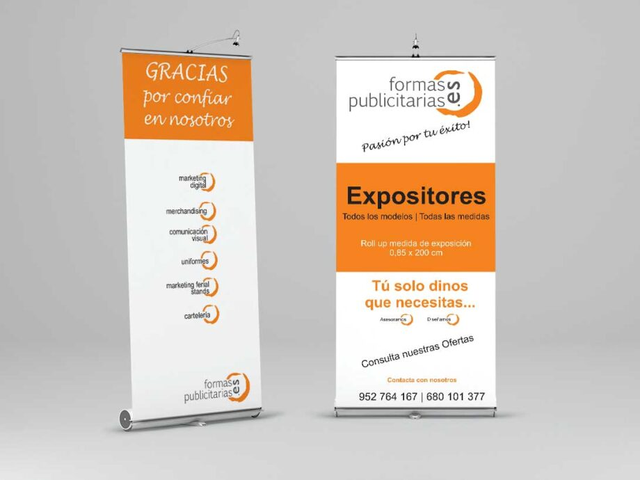 Expositor roll up 85